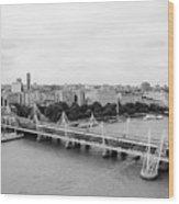 Jubilee Bridge Wood Print