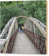 Jubilee Bridge - Matlock Bath Wood Print