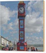 Jubilee Clock - Weymouth Wood Print