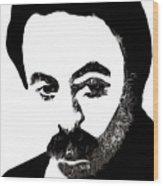 Jubran Khalil Jubran Wood Print