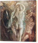 Judgment Of Paris Wood Print