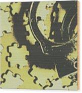 Judicial Jigsaw Wood Print