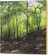 Judy Woods Wood Print