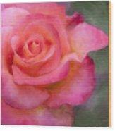 Judys Rose Wood Print