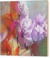Juego Floral Wood Print