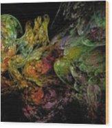 Juggernaut-4 Wood Print
