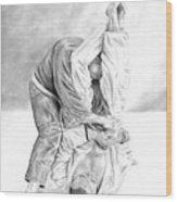 Jiu Jitsu Fundamentals The Armbar Wood Print