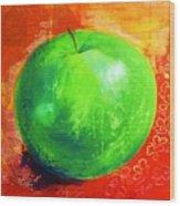Juicy Green Wood Print