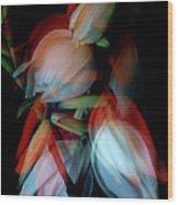 Jukka Flowers Wood Print