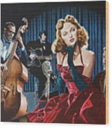 Julie London - Cry Me A River Wood Print
