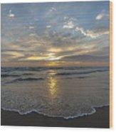 July 2015 Sunset Part 1 Wood Print