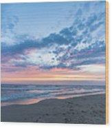 July 2015 Sunset Part 5 Wood Print
