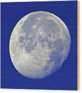 D6b6303-july 4th Moon 2015  Wood Print