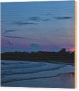July Evening  Wood Print