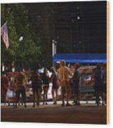 July Fourth Wood Print