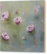 July Roses Wood Print