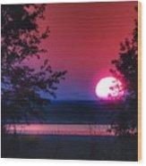 July Sunrise 1 Wood Print