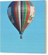Jump For Joy Wood Print