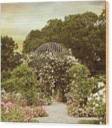June Bloom Wood Print