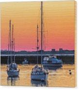 June Sunrise 506 Am Wood Print