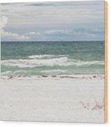 June Waves Wood Print