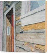 Juneau Townhouse Wood Print