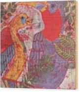 Jungle Chit Chat Batik Wood Print