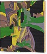 Jungle Dance IIi Of IIi Wood Print