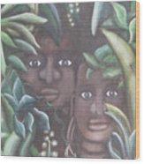 Jungle Depths Wood Print