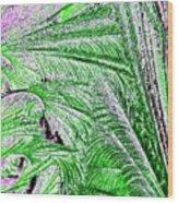 Jungle Flora Wood Print