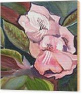 Jungle floral Wood Print