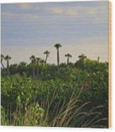 Jungle Oasis Wood Print