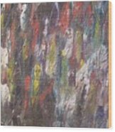 Jungle Spirits Wood Print