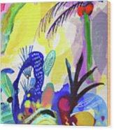 Jungle Vision Wood Print
