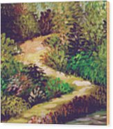 Jungle Walk Wood Print