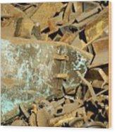 Junk 11 Wood Print