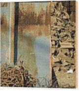 Junk 12 Wood Print