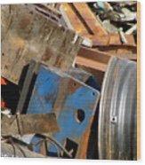 Junk 13 Wood Print