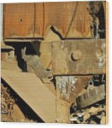 Junk 4 Wood Print