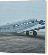 Junkers Ju-52 Wood Print