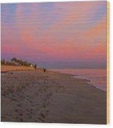 Juno Beach Pastel Sunrise Wood Print