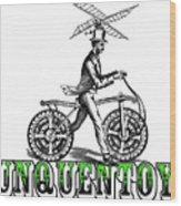 Junquentoys Bike-o-vator Wood Print