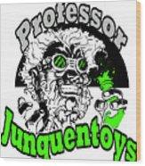 Junquentoys Circular Logo Wood Print