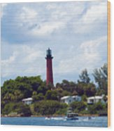 Jupiter Inlet Florida Wood Print