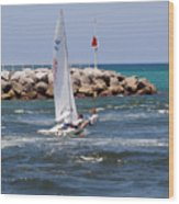 Jupiter Inlet In Florida Wood Print