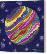 Jupiter Ss Wood Print