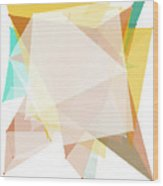 Jura Polygon Pattern Wood Print
