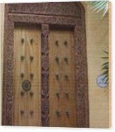 Just A Door Wood Print