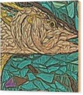 Just A Fish Wood Print