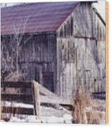 Just A Little Tlc Barn Wood Print